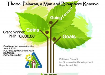 Palawan Man and Biosphere Reserve Logo Design Contest