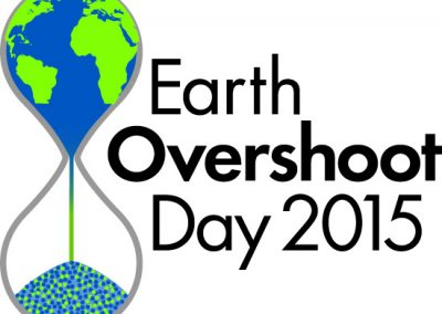 August 13 2015: Earth Overshoot Day
