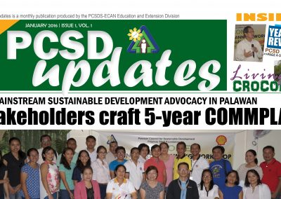 PCSD Updates January 2016 Issue