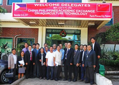 PCSDS welcomes arrival of China-Philippines Academic Exchange on Aquaculture Technology delegates
