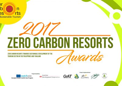 2017 Zero Carbon Resorts Awards