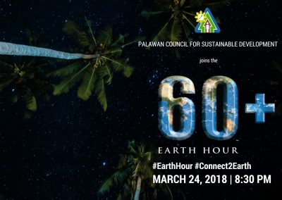 PCSD to join the Earth Hour celebration