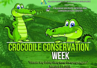 PCSD supports PWRCC in the celebration of the Crocodile Conservation Week