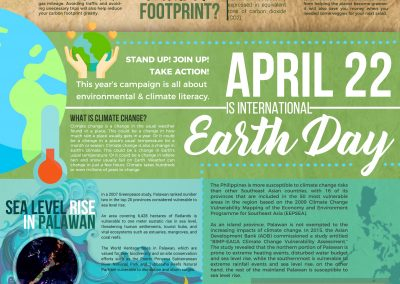 Earth Day Infographics: Reducing our Carbon Footprint