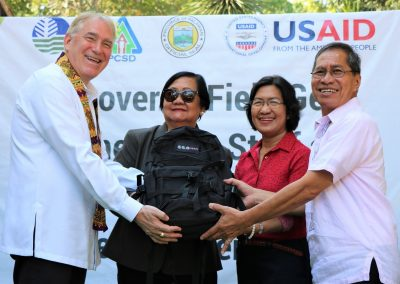 USAID turns over new field gears to PCSDS