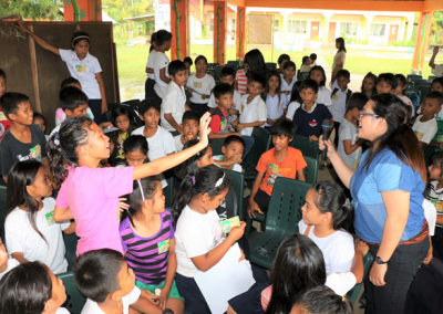 PCSDS visits elementary schools to promote wildlife conservation