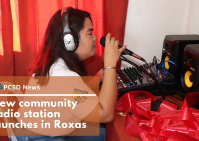 New community radio station launches in Roxas