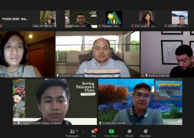 PCSDS holds Saving Palawan's Threatened Flora Webinar